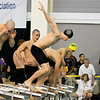 Clarkson Athletics: Men and Women swimming at UYNSCSA at Ithaca College.<br /> <br /> Day 3 Finals