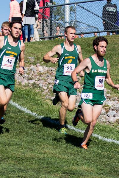 Clarkson Athletics: Mens Cross Country at Hoffmann Invitational (SLU)