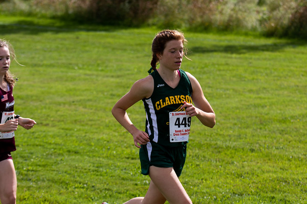 Clarkson Men and Women Cross Country at Hoffmann Invitational hosted by St. Lawrence.