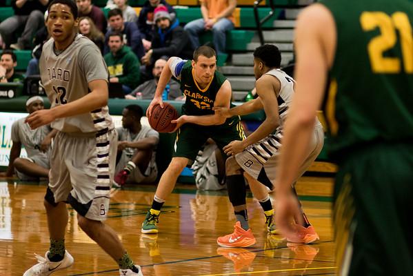 Clarkson Athletics: Men Basketball vs. Bard. Clarkson win 76-71