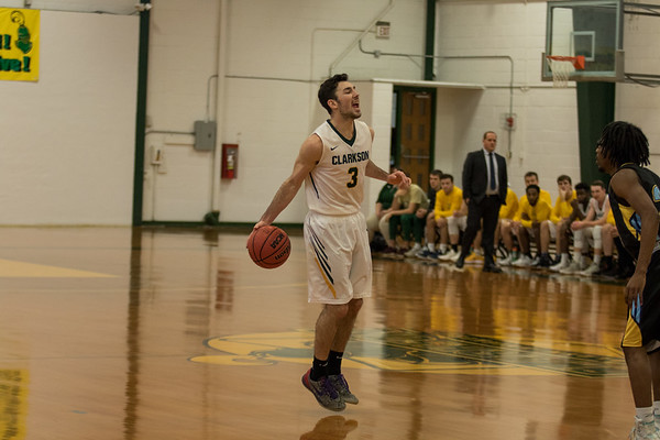 Clarkson Athletics: Men Basketball vs. Wildcats. Clarkson win 72 to 61