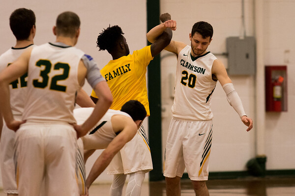 Clarkson Athletics: Men's Basketball vs. RPI Clarkson win 74 to 65.