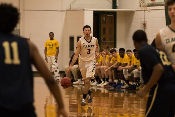 Clarkson Athletics: Men Basketball vs. SUNY Canton. Clarkson Win 95 to 75.