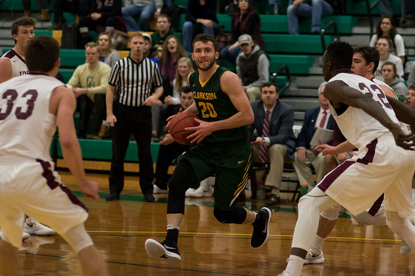 Clarkson Athletics: Men basketball vs Union.
