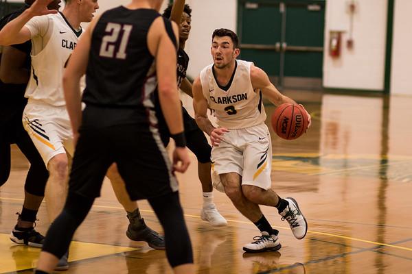 Clarkson Athletics: Men Basketball vs. Potsdam College. Clarkson win 78 to 71