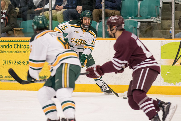 ECAC Men Hockey. Clarkson vs. Colgate Game 1. Colgate win 2 to 1