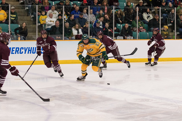 ECAC Men Hockey. Clarkson vs. Colgate Game 1.
