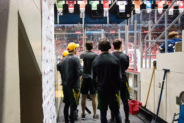 Clarkson Athletics: ECAC 1/4 Finals Clarkson vs. Harvard. Clarkson win 5 to 4 in overtime.