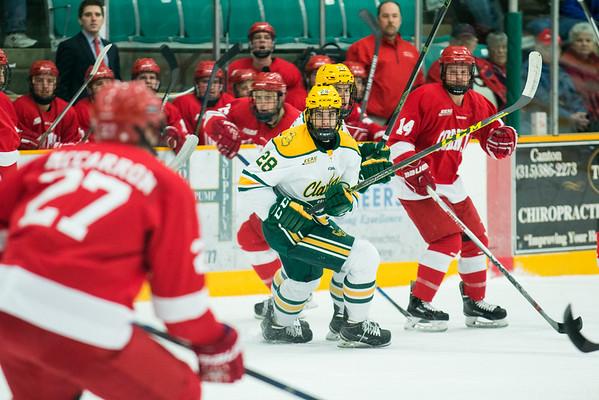Clarkson vs. Cornell - Final Clarkson:2 Cornell:1 - Final goal scored in the last min of overtime