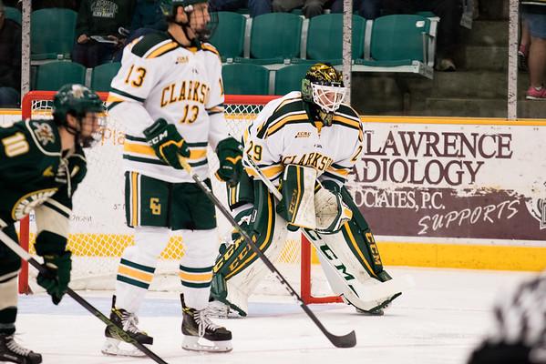 Clarkson Athletics: Men Hockey vs. University of Vermont. UVM win 5-2