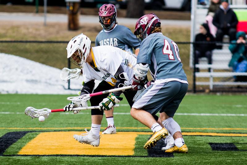 Clarkson Athletics: Men Lacrosse vs. Vassar. Vassar win 10 to 9.