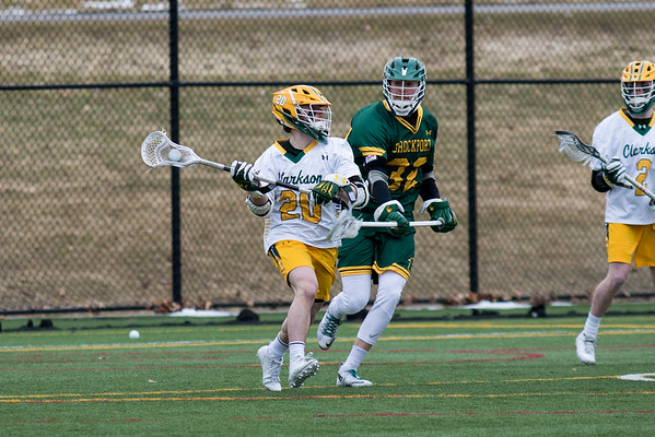 Clarkson Athletics: Men Lacrosse vs. Brockport Clarkson win 11 to 1.