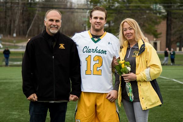 Clarkson Athletics: Men Lacrosse vs. Skidmore. Clarkson win