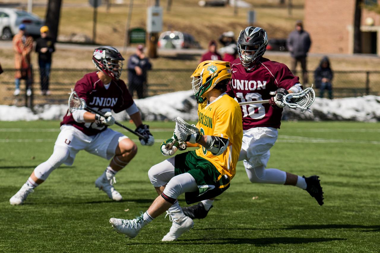 Clarkson Athletics: Men Lacrosse vs. Union. Union win 12 to 10