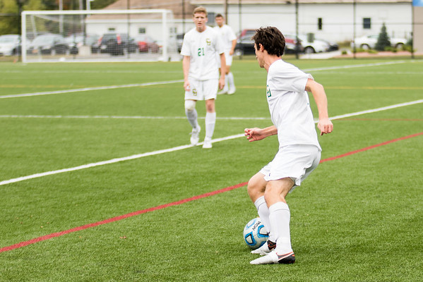 Clarkson Athletics: Men Soccer vs. Bard. Clarkson win 2-1