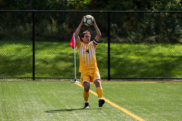 Clarkson Athletics: Men Soccer vs RIT. Clarkson win 1 to 0.