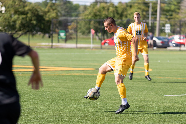 Men Soccer vs. Plattsburgh.Plattsburgh win 2 to 0.
