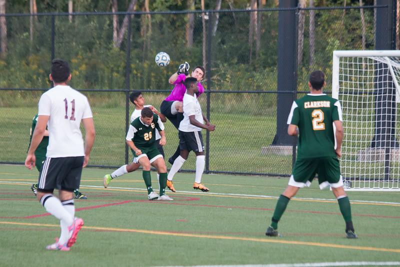 Clarkson Athletics Men Soccer vs. University of Ottawa: Clarkson Win 2 to 0