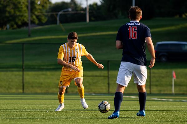 Clarkson Athletics: Men Soccer vs. Utica. Clarkson Win 2 to 0.