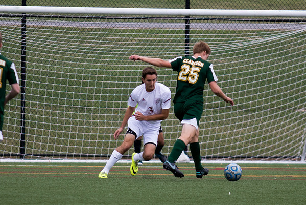 Clarkson Athletics: Men Soccer vs. Vassar. Vassar win 2-1