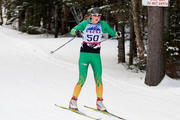 Clarkson Athletics: Nordic Skiing Invitational in Lake Placid
