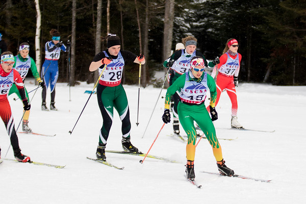 Clarkson Athletics: Nordic Skiing Invitational in Lake Placid