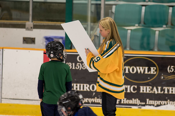 Clarkson Athletics: Hockey Skate with a Knight
