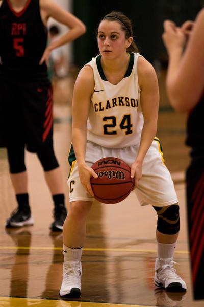 Clarkson Athletics: Women's Basketball vs. RPI Clarkson win 74 to 70.
