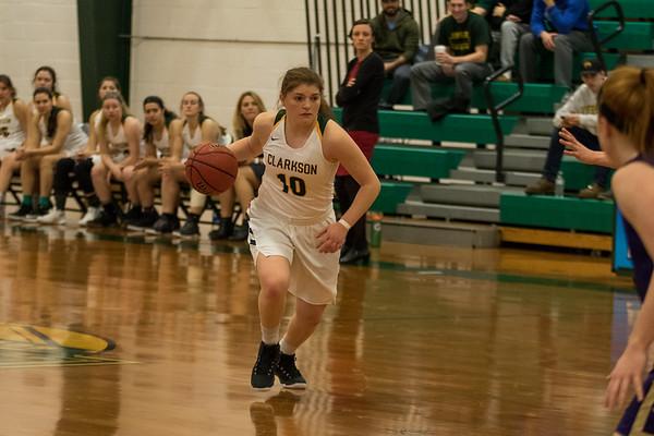 Clarkson Athletics: Women Basketball vs. Houghton. Clarkson win 71 to 67