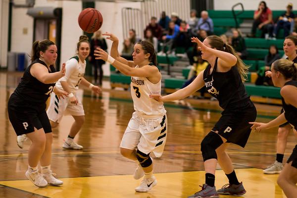 Clarkson Athletics: Women Basketball vs. Potsdam College. Clarkson win 69 to 54