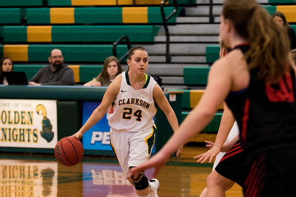 Clarkson Athletics: Women's Basketball vs. RPI Clarkson win 74 to 70.