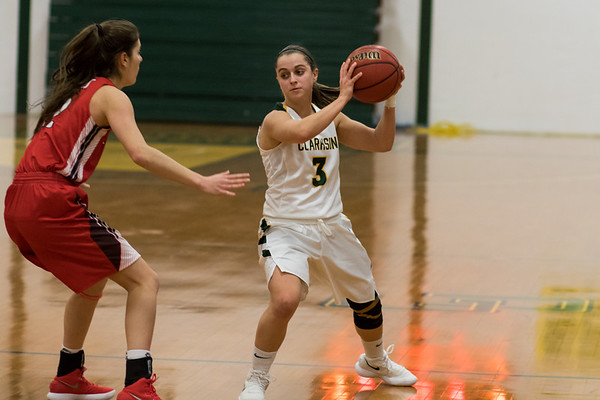 Clarkson Athletics: Women Basketball vs. St Lawrence. SLU Win 73 to 57
