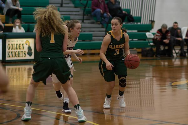 Clarkson Athletics: Women basketball vs Union. Clarkson win 76 to 39