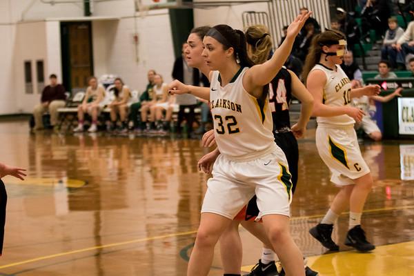 Clarkson Athletics: Women Basketball vs. RIT. Clarkson win 80-77