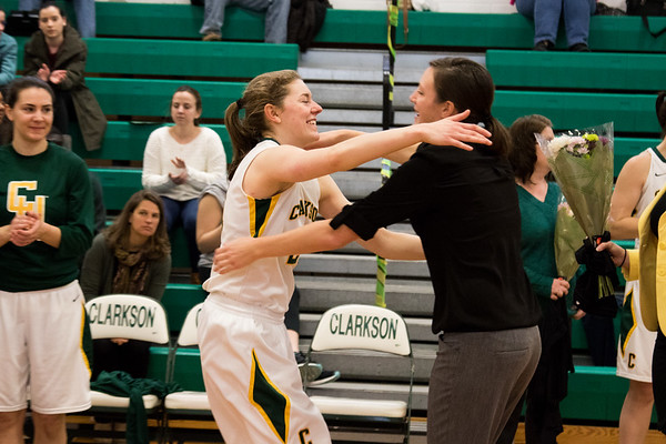 Clarkson Athletics: Women Basketball vs. Vassar.