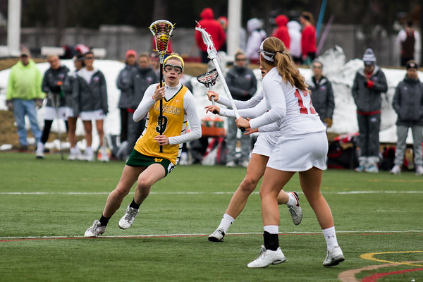 Clarkson Athletics: Women Lacrosse vs St. Lawrence. Game at St. Lawrence with a Clarkson win 10 to 9 in overtime