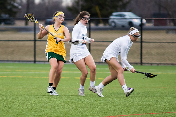 Clarkson Athletics: Women Lacrosse vs. SUNY Potsdam. Clarkson win 12 to 5