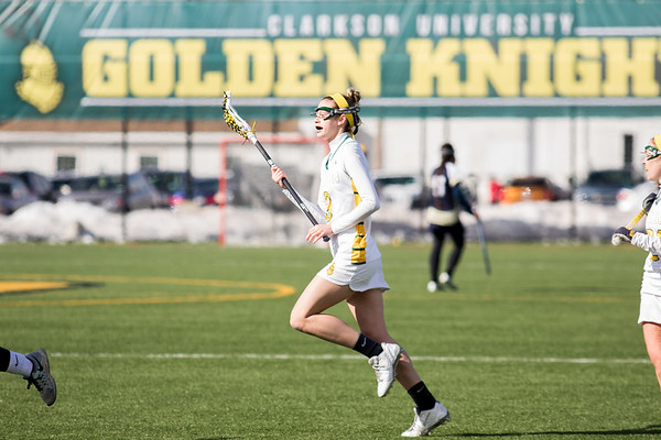Clarkson Athletics: Women Lacrosse vs. SUNY Canton. Clarkson win 20 to 3.
