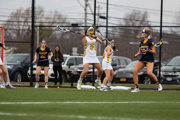 Clarkson Athletics: Women Lacrosse vs. University of Rochester. Clarkson win 11 to 8.
