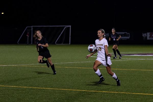 Clarkson Athletics: Women Soccer at SUNY Potsdam. Potsdam win 2 to 1.