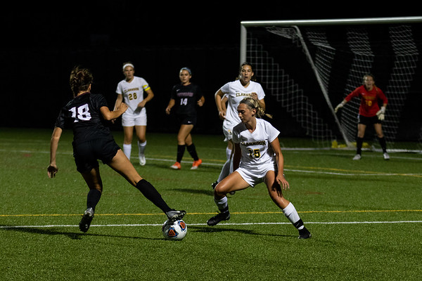 Clarkson Athletics: Women Soccer at SUNY Potsdam. Potsdam win 2 to 1.