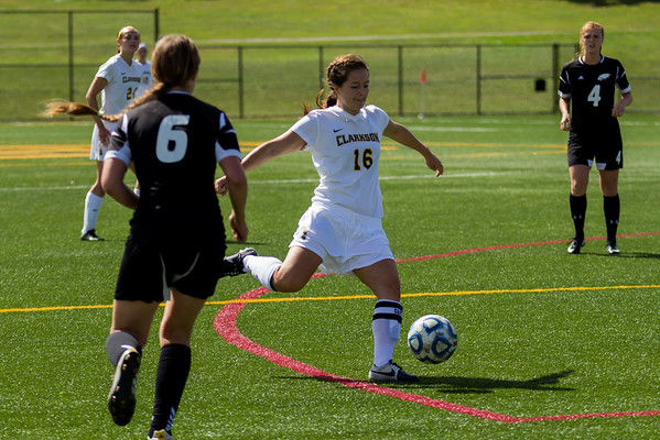Clarkson Athletics: Women Soccer vs. Green Mountain College. Clarkson win 7-0