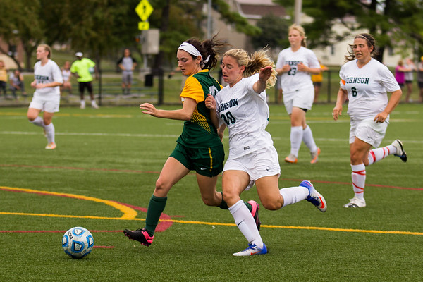 Clarkson Athletics: Women Soccer vs. Johnson State. Clarkson win 8-1