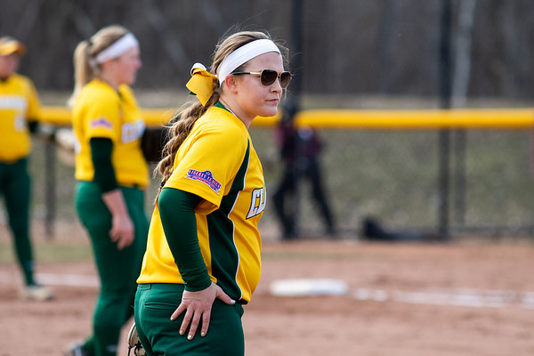 Clarkson Athletics: Women Softball vs. Potsdam State. (Potsdam home)