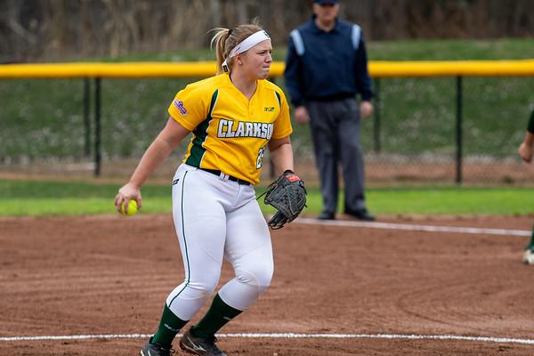 Clarkson Athletics: Women Softball vs. SLU. Game 1