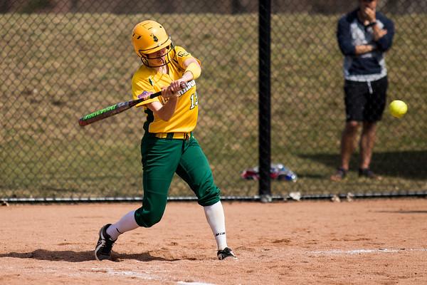 Clarkson Athletics: Women Softball vs. University of Rochester. Game 1. Clarkson win 3 to 1