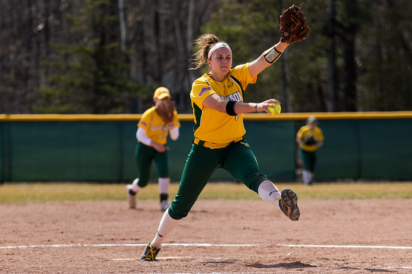 Clarkson Athletics: Women Softball vs. University of Rochester. Game 1. Clarkson win 3 to 1