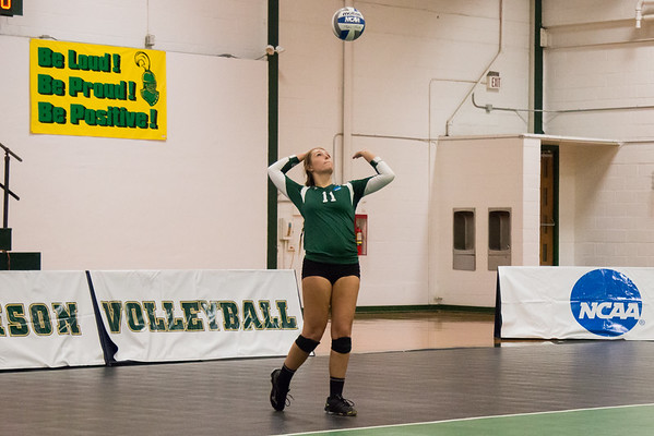 Clarkson Athletics Women Volleyball vs. Central College: Clarkson win 3 to 0
