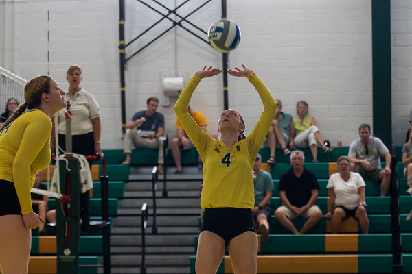 Women Volleyball vs. SUNY Potsdam. Clarkson win 3 to 1.