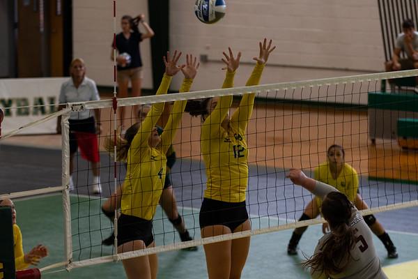 Women Volleyball vs. SUNY Potsdam. Clarkson win 3 to 1.